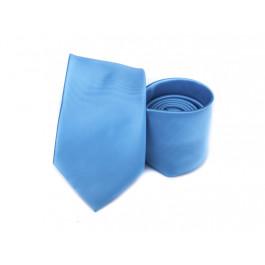 Cravata bleu texturat uni