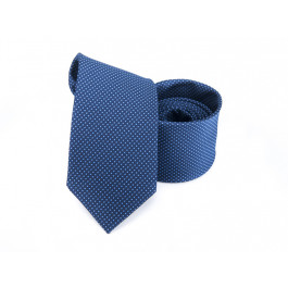 Cravata bleumarin cu puncte bleu
