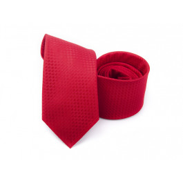 Cravata rosie fantasy cu striuri
