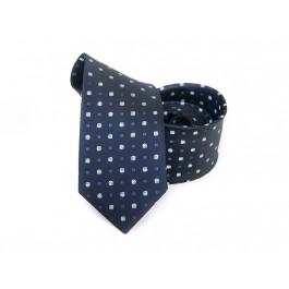 Cravata indigo cu imprimeu floral