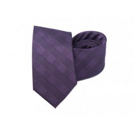 Cravata mov imprimeu geometric