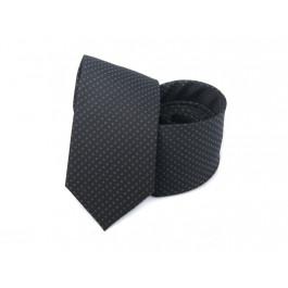 Cravata neagra imprimeu geometric