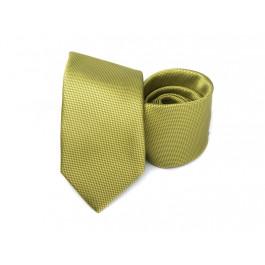 Cravata oliv texturat uni