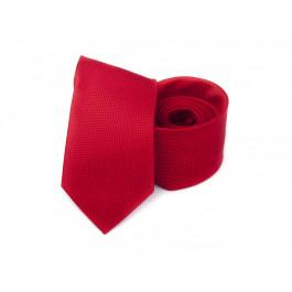 Cravata slim rosie uni